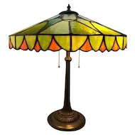81-Duffner and Kimberly Leaded lamp