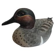 Mallard Duck Figurine by Second Nature Design Wildlife Collectibles - Signed by artist