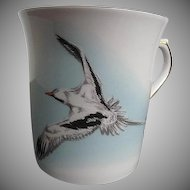 "Queen's Fine Bone China ""The Bermuda Longtail"" Coffee/Tea Mug - made in England"
