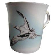"Queen's Fine Bone China ""The Bermuda Longtail"" Coffee/Tea Mug - made in England"