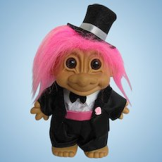 Troll Groom or Best Man Collectible Doll made by Russ Co. #18347