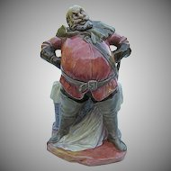 "Royal Doulton ""FALSTAFF"" HN 2054 Porcelain Figurine - Copyright 1949 - Hand-painted - England"