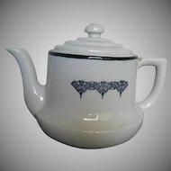 Drip-O-lator Glazed Ceramic Coffee Pot - made in Massillon, Ohio - 1940's era