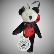 Tweedie F. Wuzzie - Boyds Lady Bug Bears Ornament 595181 - 1994