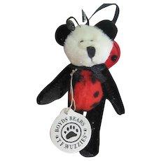 Tweedie F. Wuzzie - Boyds Lady Bug Bears Ornament 595181 - 1994