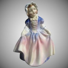 "Royal Doulton ""Dinky Do"" Porcelain Figurine HN 1678 - Bone China - Made in England"