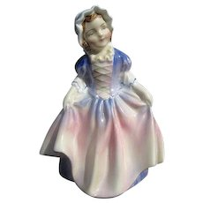 "Royal Doulton ""Dinky Do"" Porcelain Figurine HN 1678 - Bone China - Made in England"