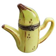 Vintage Limoges Banana Teapot Trinket Box - LaGloriette - made in France