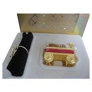 Estee Lauder Solid Perfume Compact Pleasures Toy Wagon -1997 - NIB