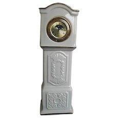 "Lennox Patriach ""Grandfather"" porcelan tabletop clock - made in U.S.A."