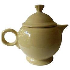 Fiesta ware tea pot
