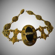Victorian mourning bracelet- second and last discount!!! -$300