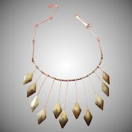 Sterling dangle necklace