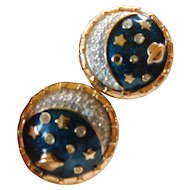 "Swarovski-""The Universe"" earrings"
