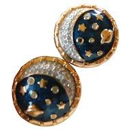 "Swarovski-""The Universe"" earrings"