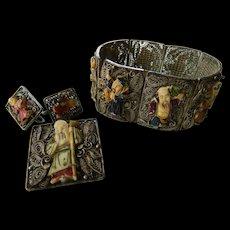 Eight immortals-jewelry set