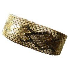 Striking 14k. gold filled bracelet-Italy