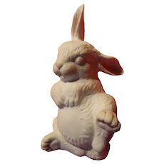 Boehm newborn sleeping rabbit figure-SALE