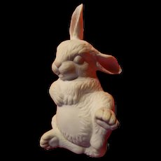 Boehm newborn sleeping rabbit figure
