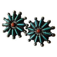 Stunning Native American earrings
