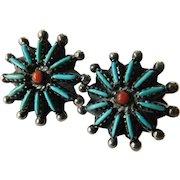 Stunning Native American earrings