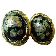 Lovely cloisonne earrings