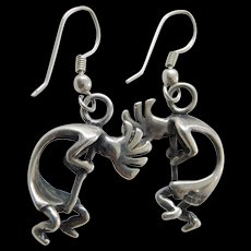 Native American sterling earrings