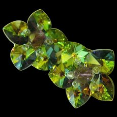 Glass stones earrings