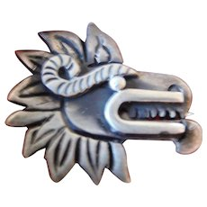 sterling-hand made pin-Mexico