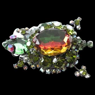 Juliana turtle pin