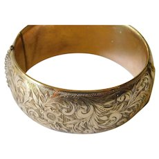 Elegant Birks gold filled bangle
