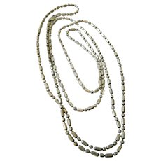 Dot dash sterling chain