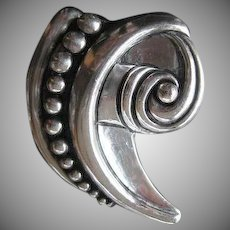 "Sterling ""Margot"" pin Mexico"