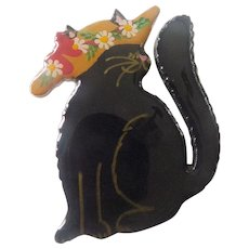 Wonderful cat pin