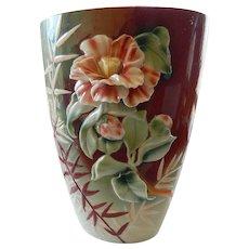 Stunning Franz pottery vasae