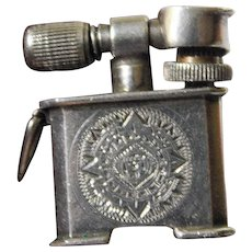 Mexican sterling mini lighter