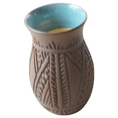 Etched Mohawk pottery