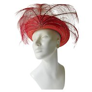 Fabulous designer hat