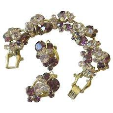 Juliana bracelet with earrings
