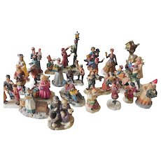 Christmas village characters