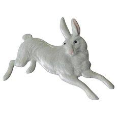 Enameled rabbit pin