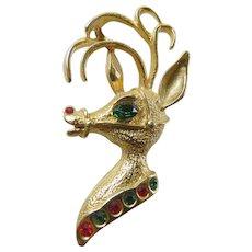 Vintage 1960's Christmas pin