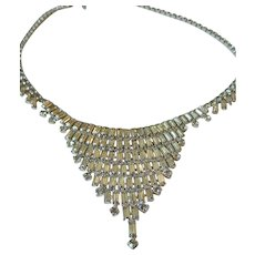 Fabulous 1959's Dazzling glass stone necklace