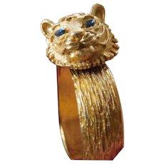 Clamper bracelet