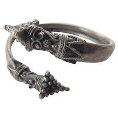Vintage -sterling bracelet