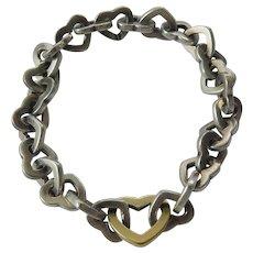 15fd96afd Tiffany Mini Heart Lock Sterling Silver Bracelet : Mardon Jewelers ...