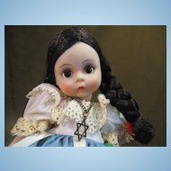 "Madame Alexander-Miniature Showcase- Israel Doll 8"" 1974"