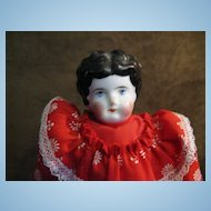 "11.5"" Antique German China Head Doll"