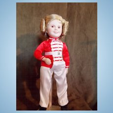 1987 Danbury (Poor Little Rich Girl) Shirley Temple Doll
