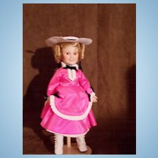 1989 Danbury Mint (Littlest Rebel) Shirley Temple Doll